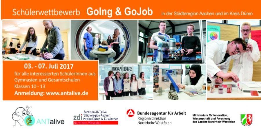 Schülerwettbewerb GoIng & GoJob 2017 Kreis Düren