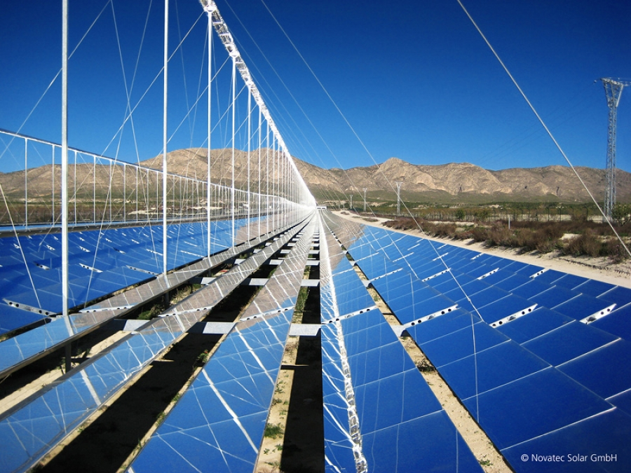Einstellungen von Solarspiegeln