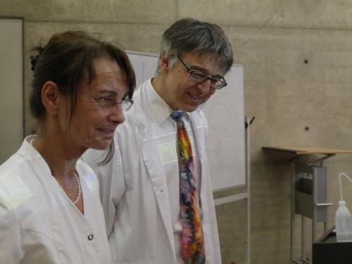 Dipl.-Ing. Ulrike Scholl und Prof. Dr. Günter Lauth